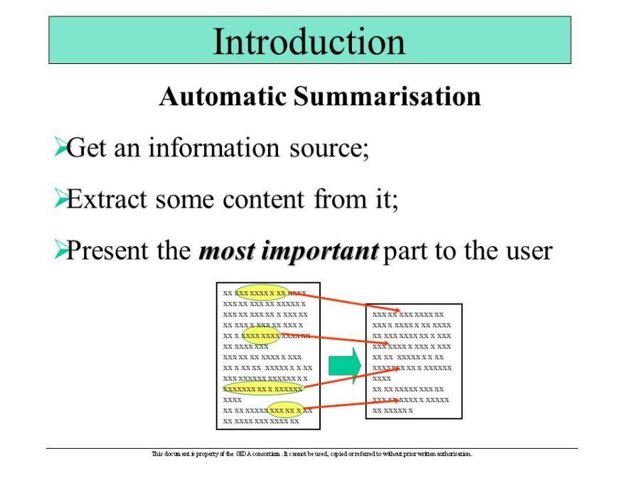 Automatic+Summarisation
